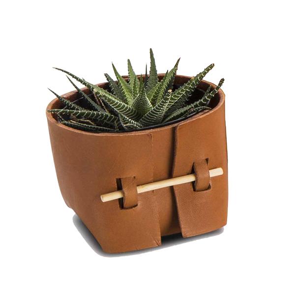 Mini Bowl Couro Havana