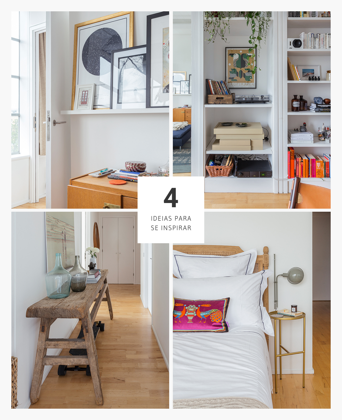 Boas ideias de decoração em um apartamento em Londres
