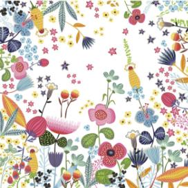 Painel de parede Jardim Dia