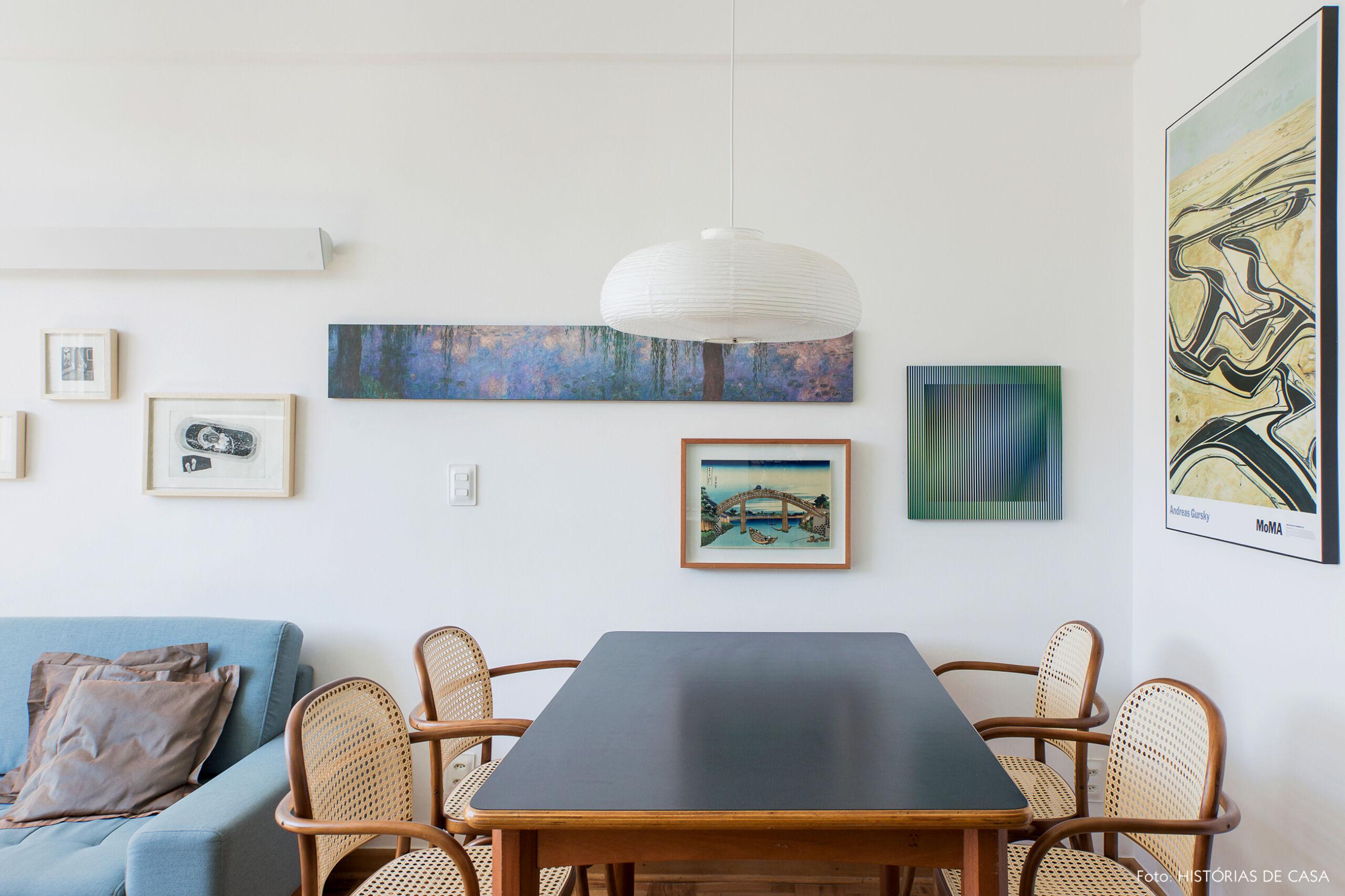 Sala de jantar com cadeiras Thonet