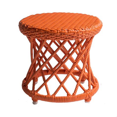 banquinho carretel – laranja