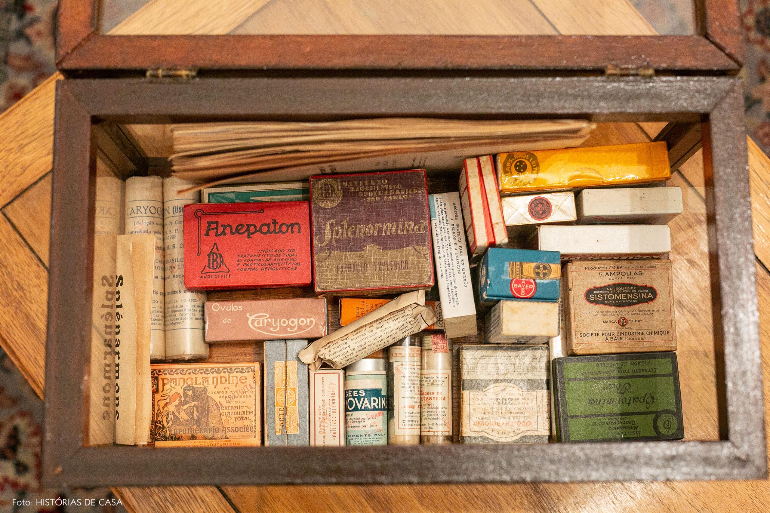 Achados vintage, remédios antigos garimpados