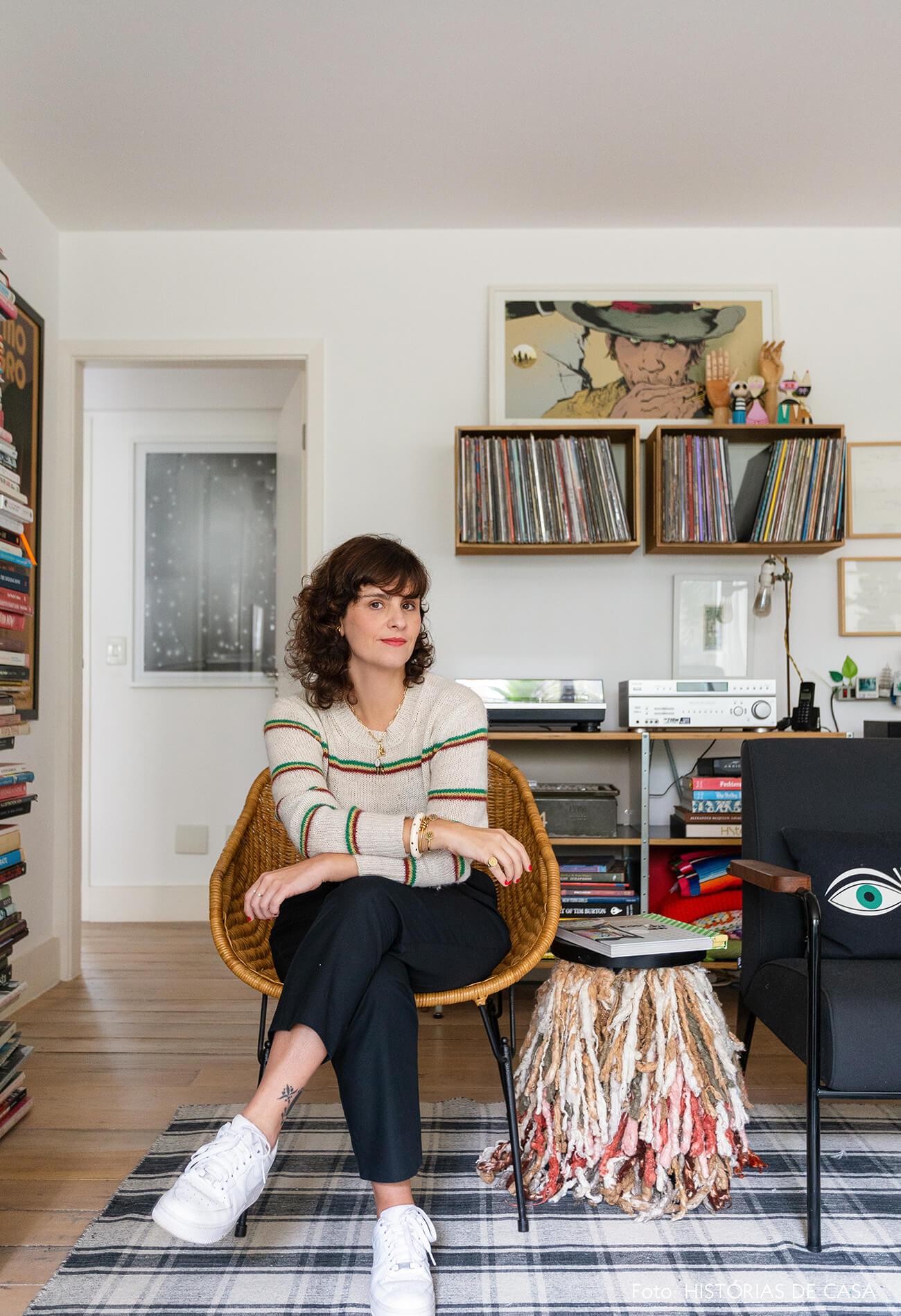 Apartamento novo da designer Ana Strumpf