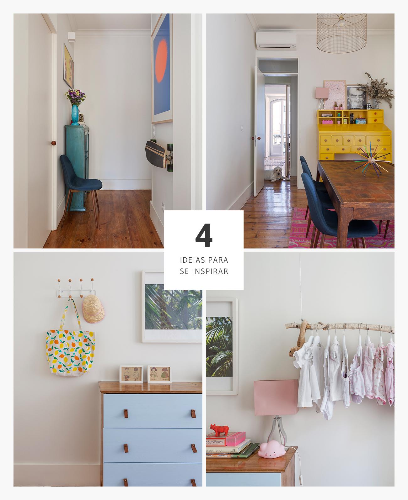 Boas ideias de decoração em apartamento