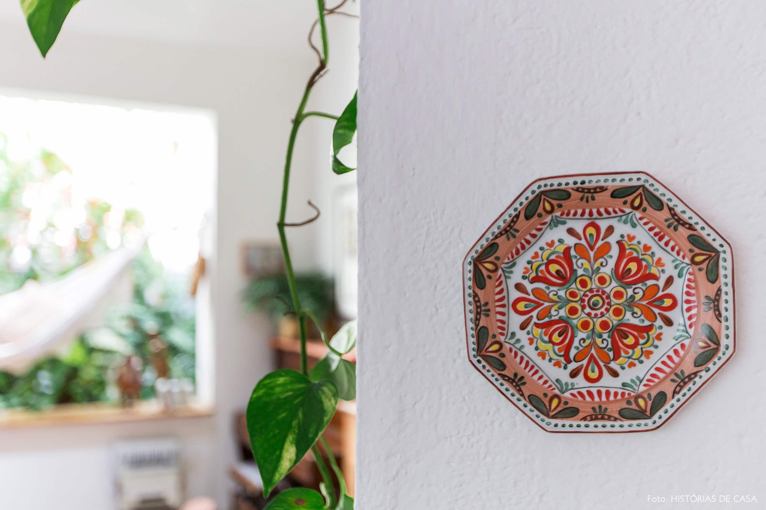 Prato de parede decorativo
