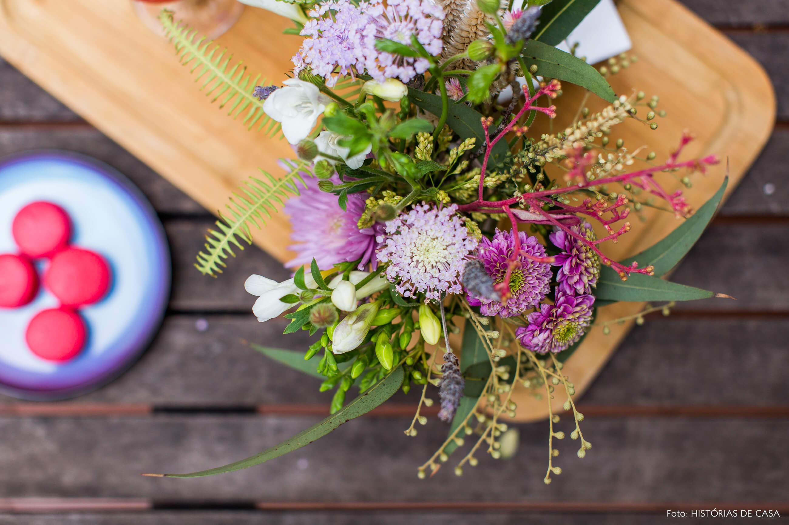 Arranjo de flores do FLO Atelier Botanico