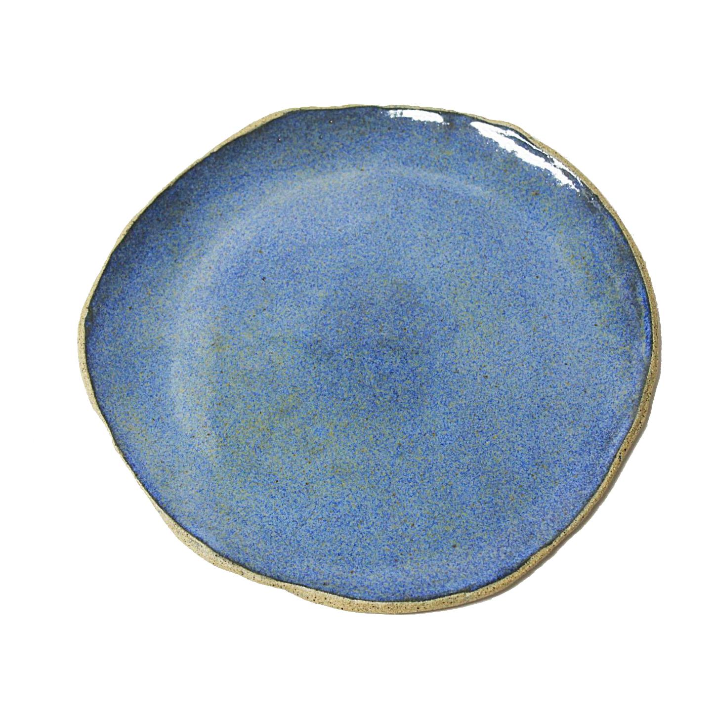 Prato rústico azul