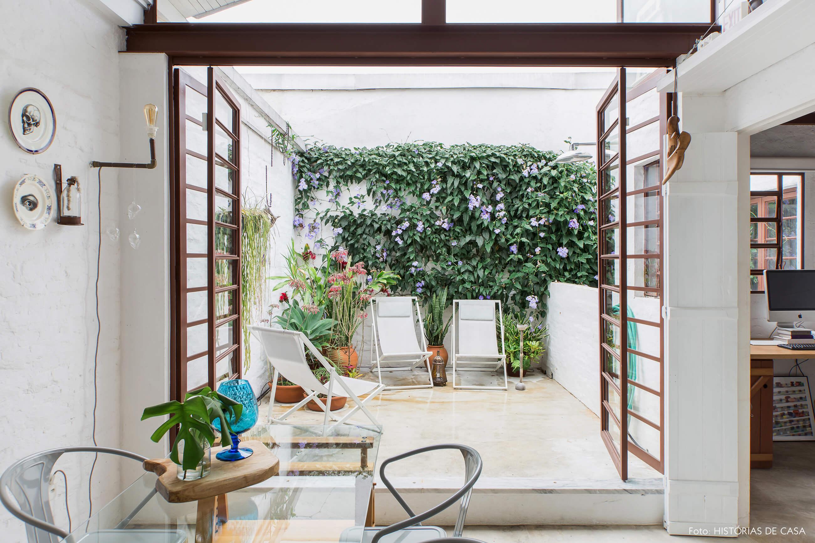 Cozinha com terraço integrado