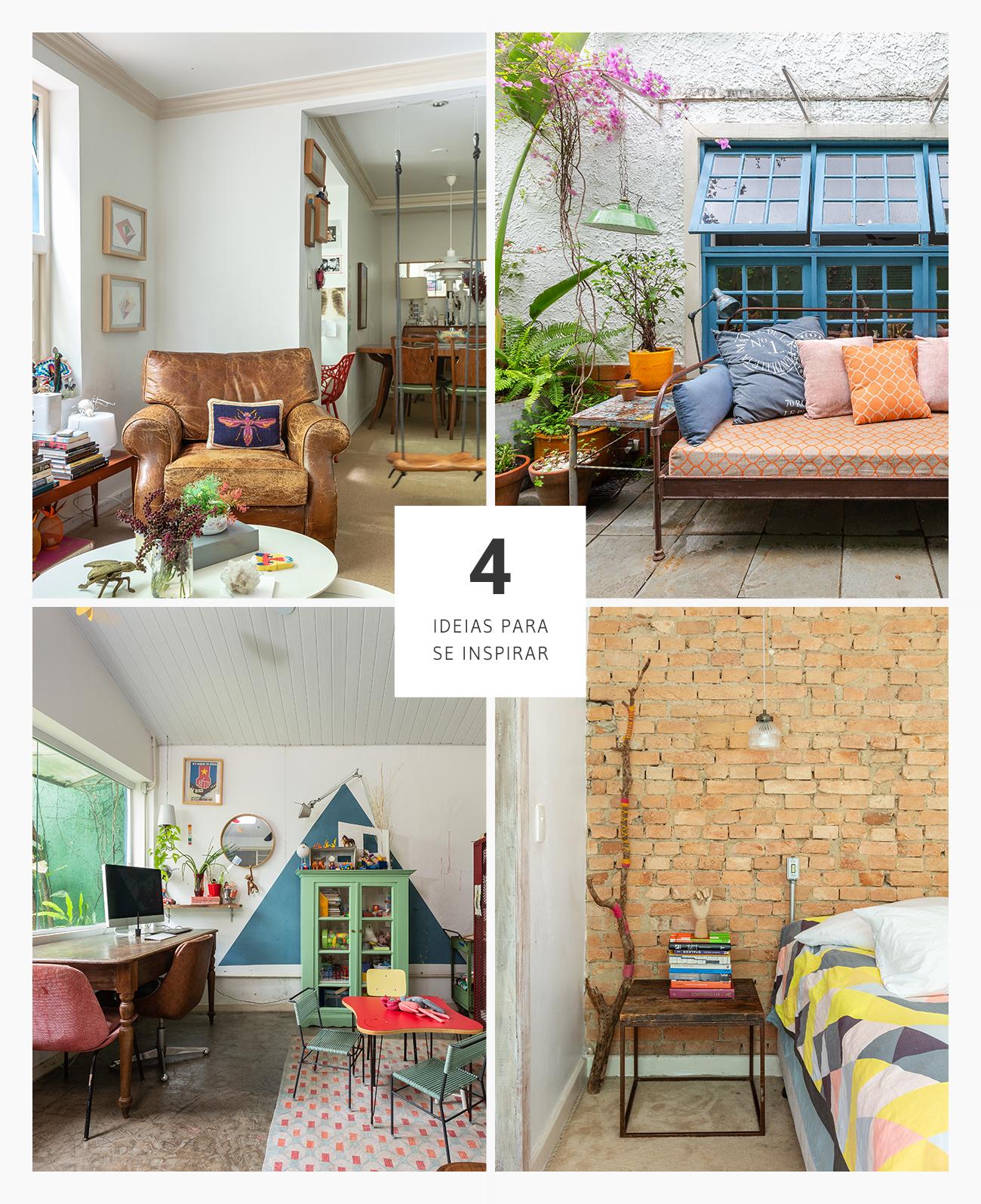 4 boas ideias de decoração em casa com jardim