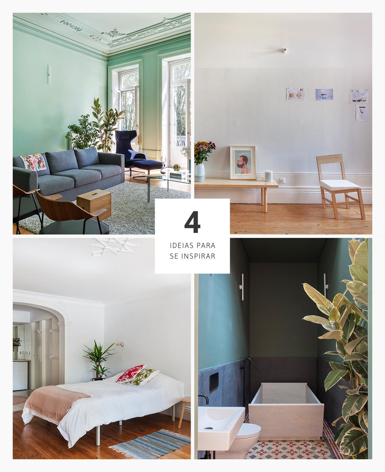 4 Boas ideias de decoração e arquitetura