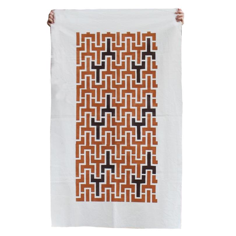painel de tecido assurini