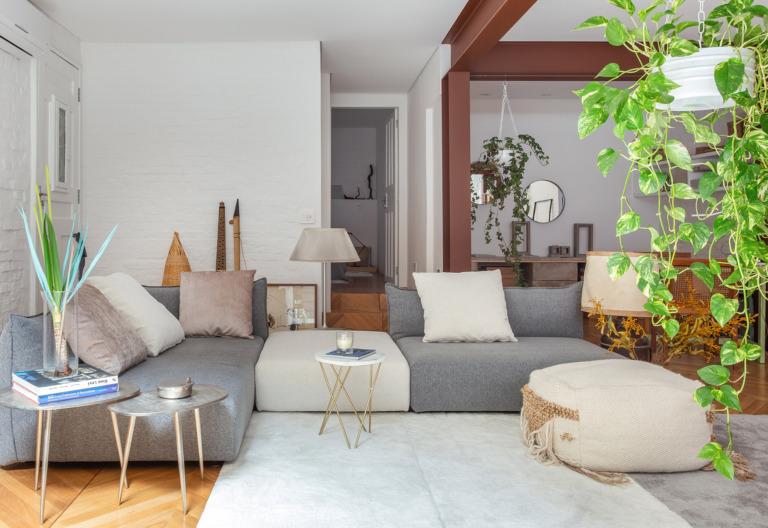 Casa estilo loft com sala integrada