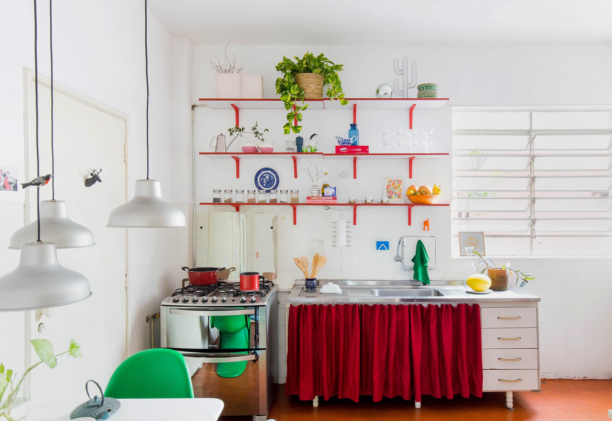Cozinha antiga com boas ideias sem reforma