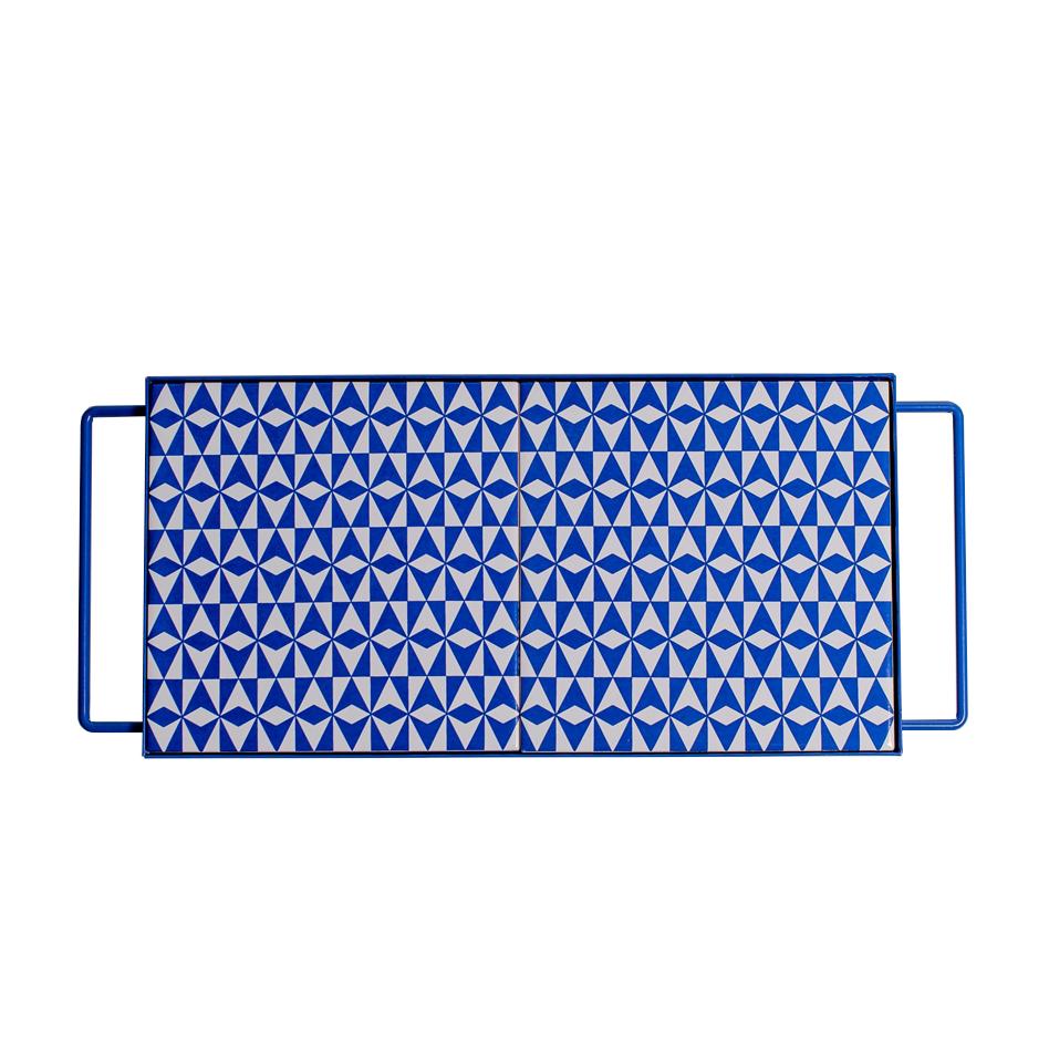 bandeja brasilia azul – 30 x 15 cm