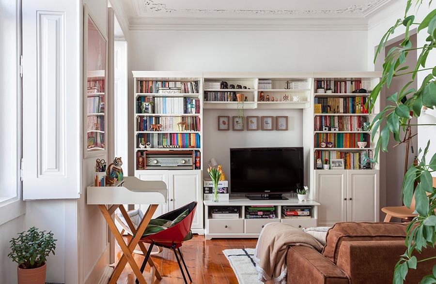 Apartamento em Lisboa com boas ideias de decoração