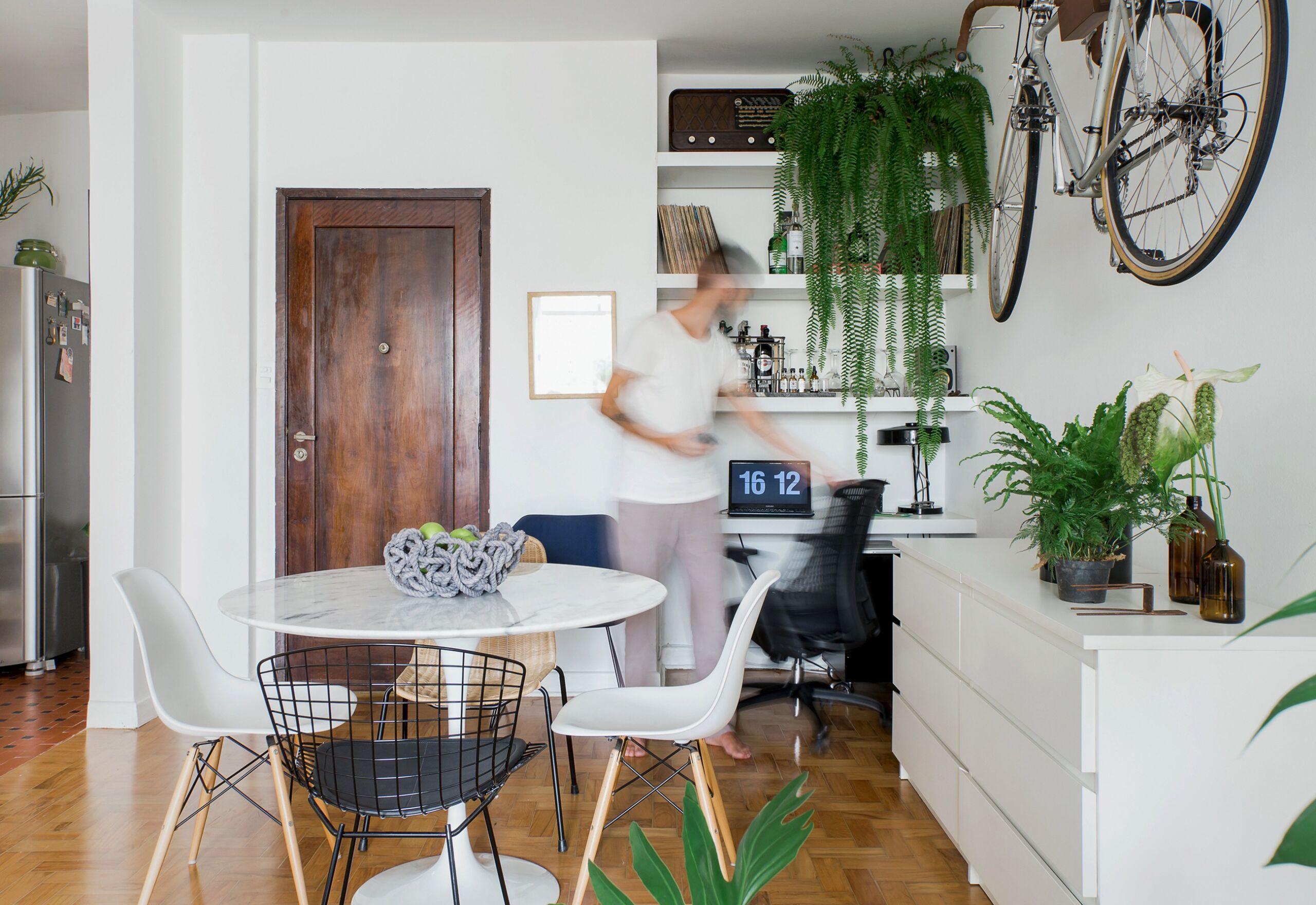 Apartamento alugado com pequena reforma e boas ideias