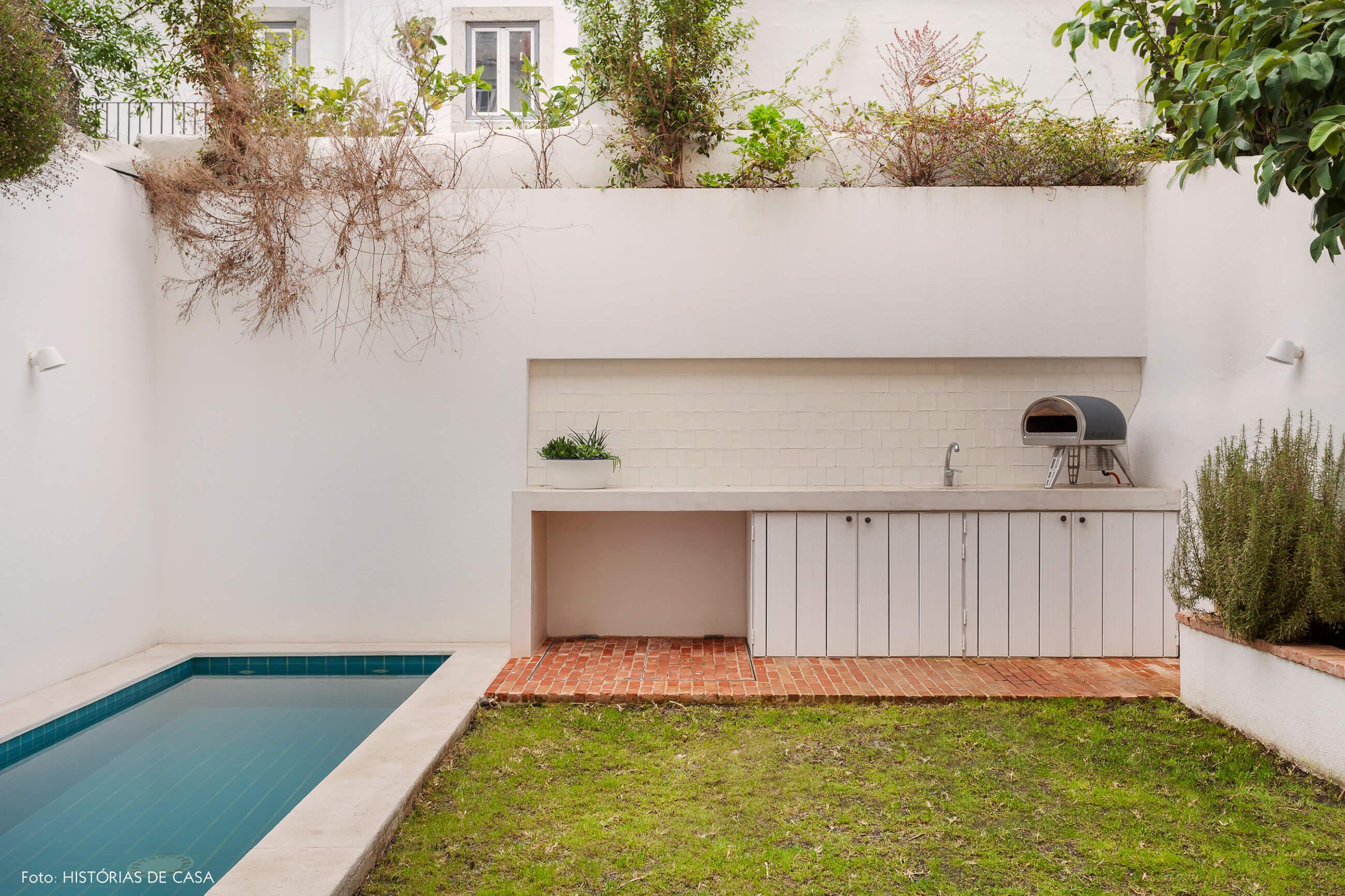 Apartamento em Lisboa com terraço e jardim com piscina