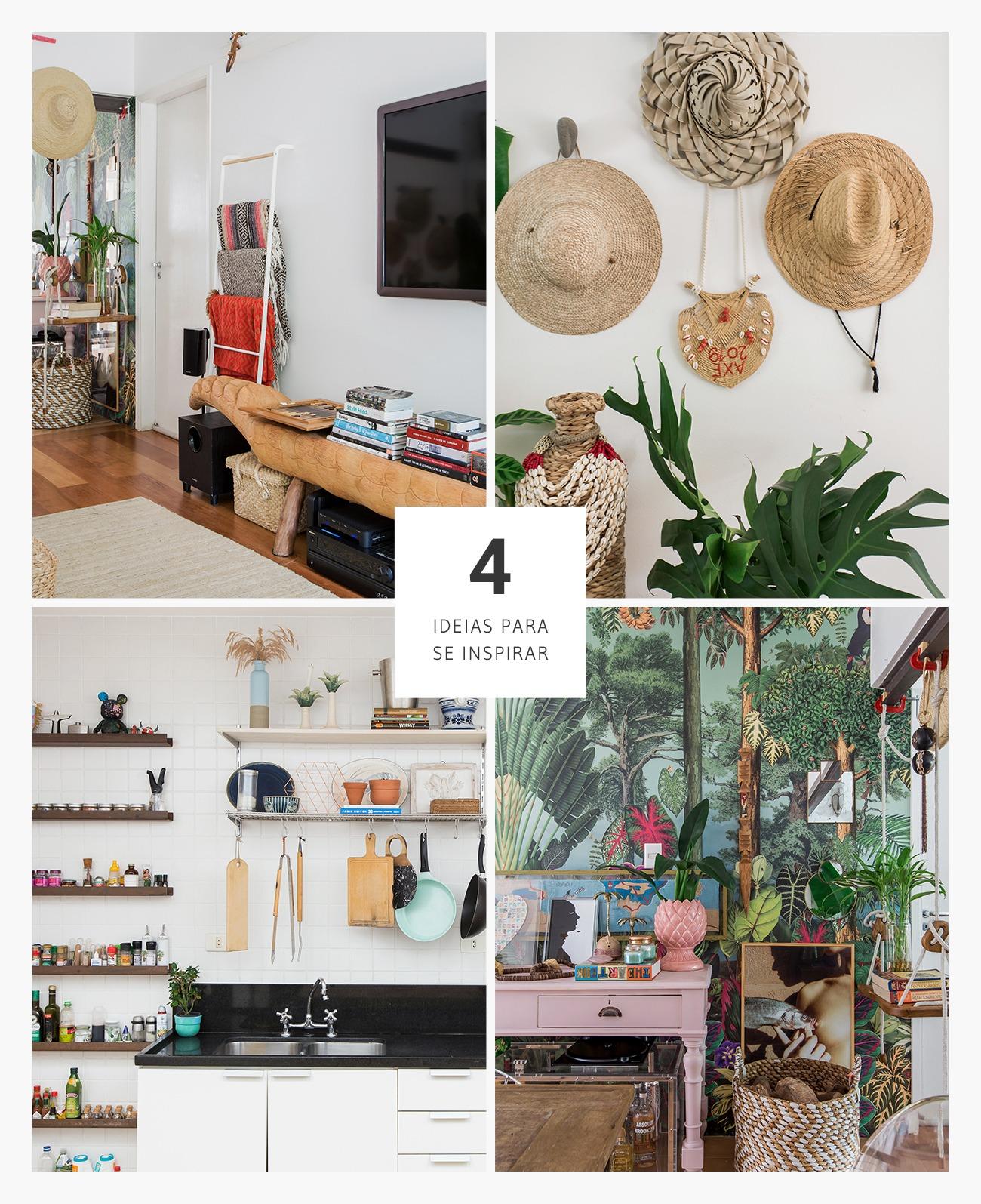 Casa com detalhes rústicos e boas ideias de decoração