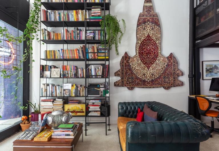 O novo espaço de trabalho da imobiliária Refúgios Urbanos