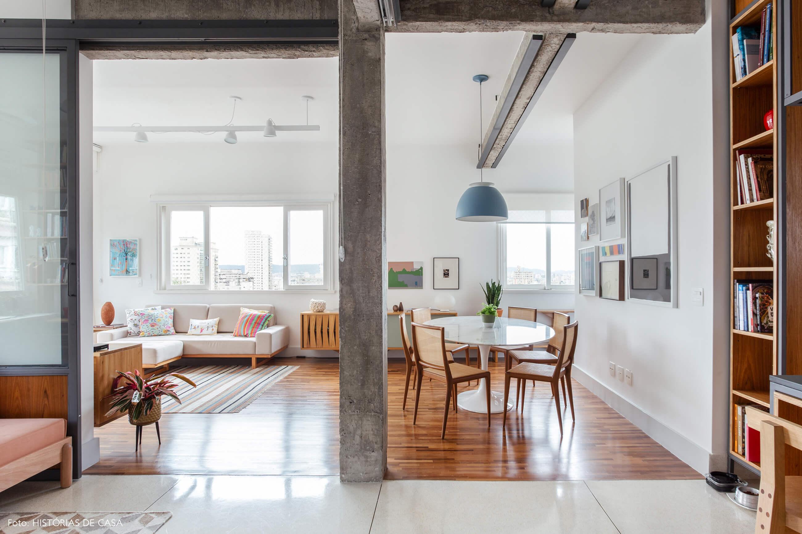 Apartamento integrado no Edifício Parque das Hortênsias, sala ampla
