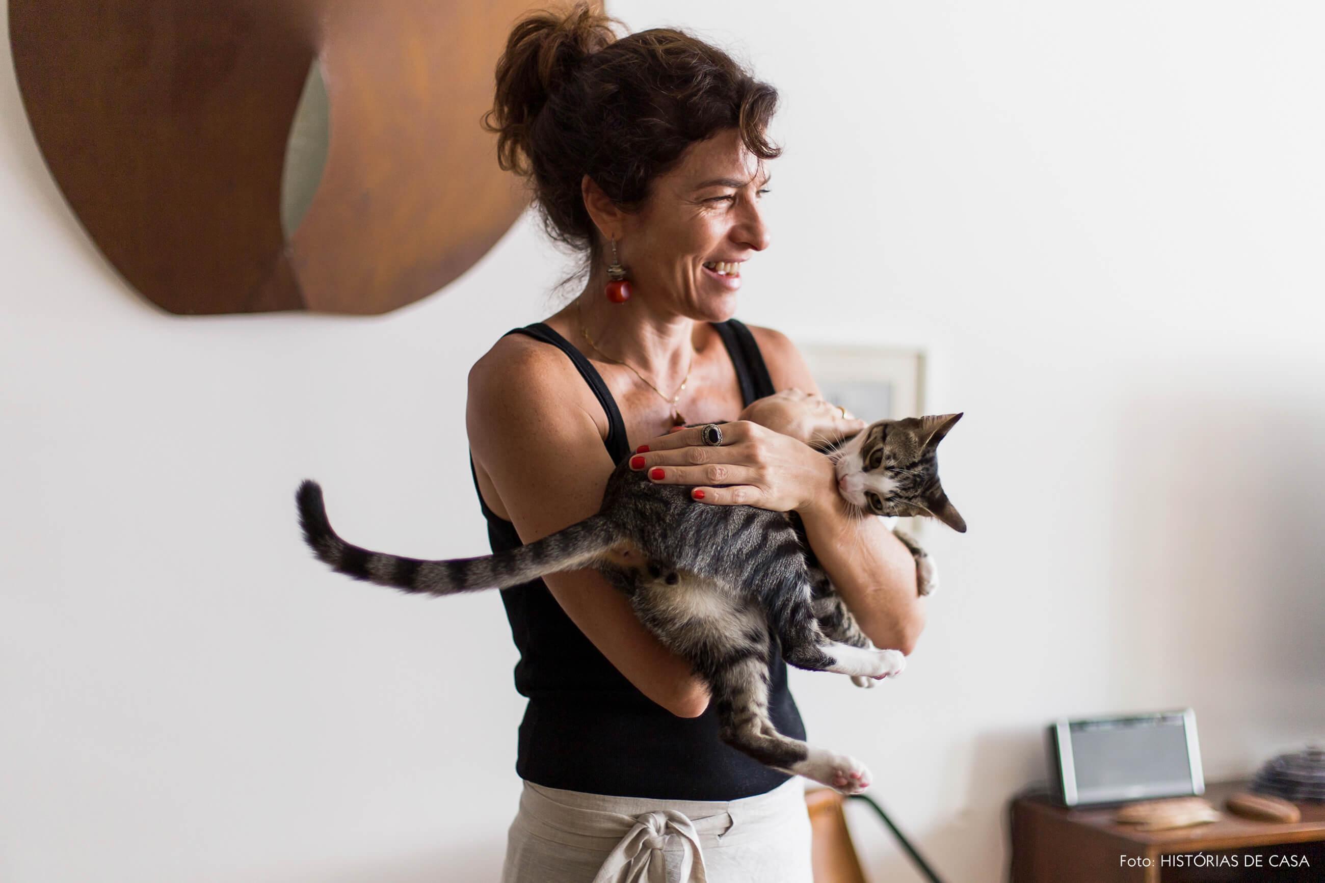 Casa com gato, Marieta