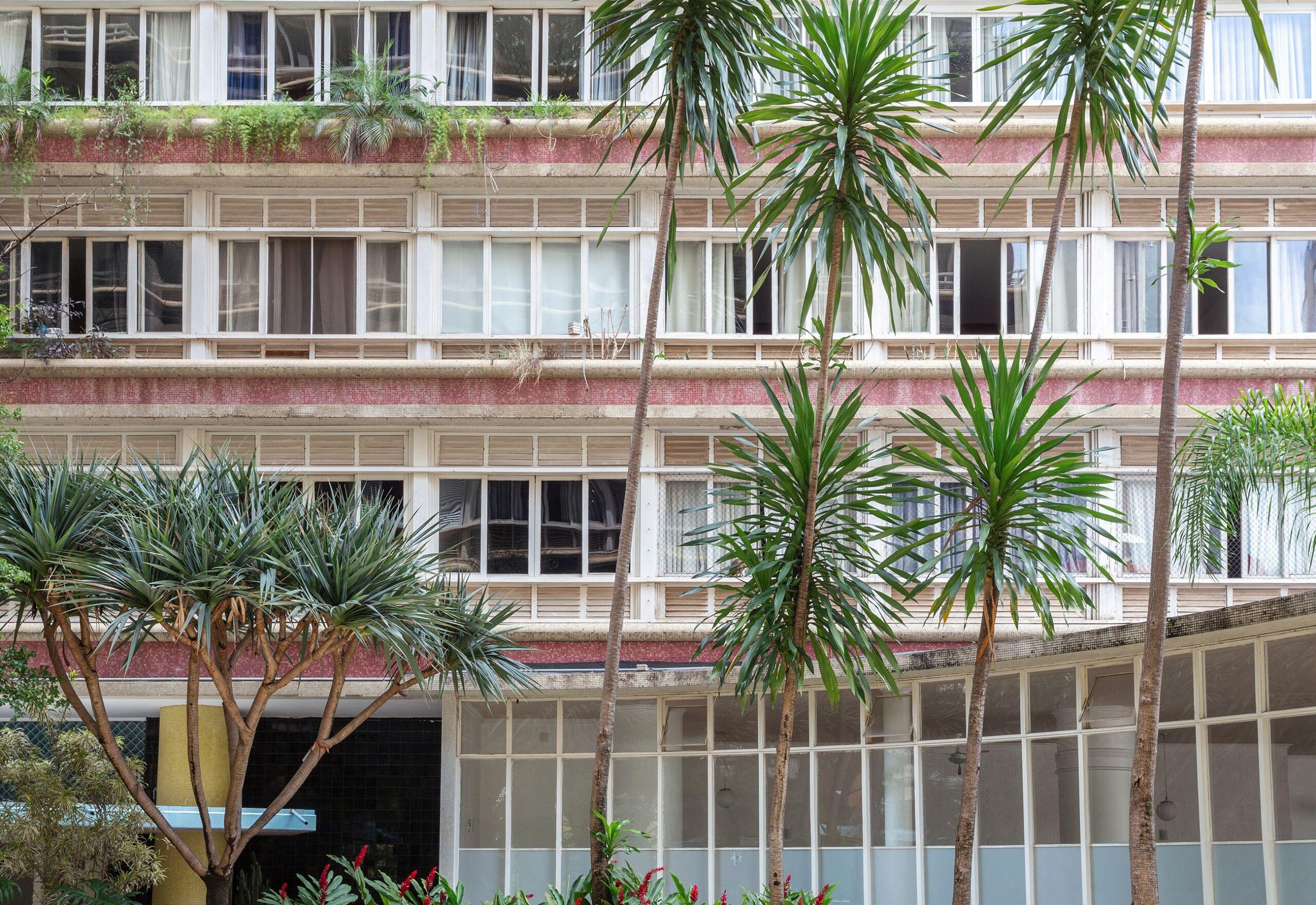 Fachada do Edifício Parque das Hortênsias, de Artacho Jurado