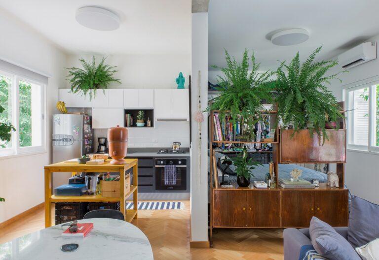 Apartamento alugado com decoração inspiradora