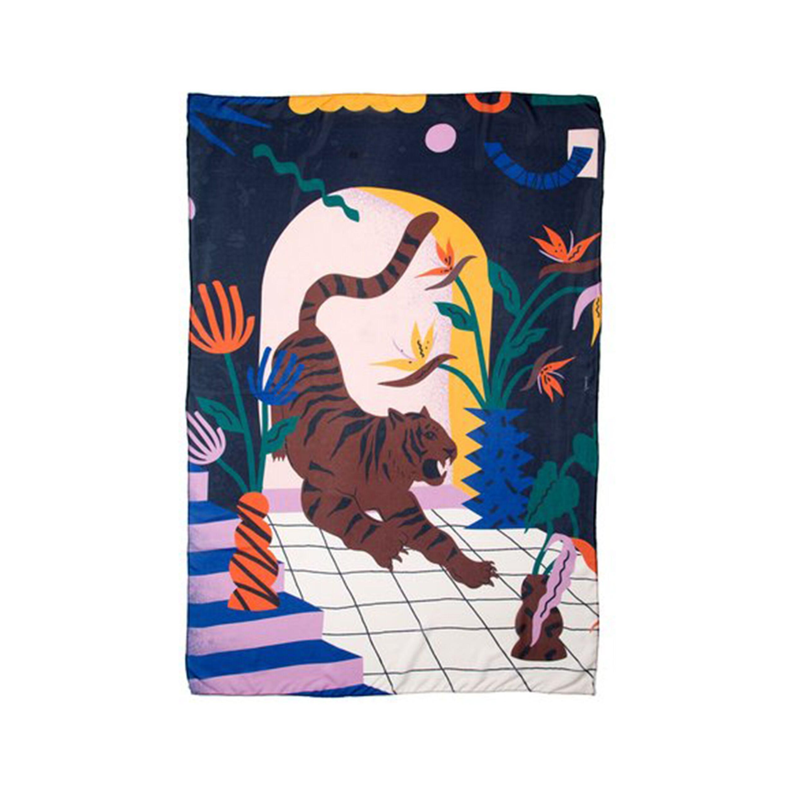 Lenço de Seda Portal Fruto Estudio (150×150)