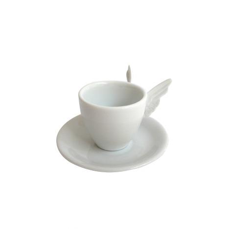 Xícara Café Alada Branca ( sem pires )