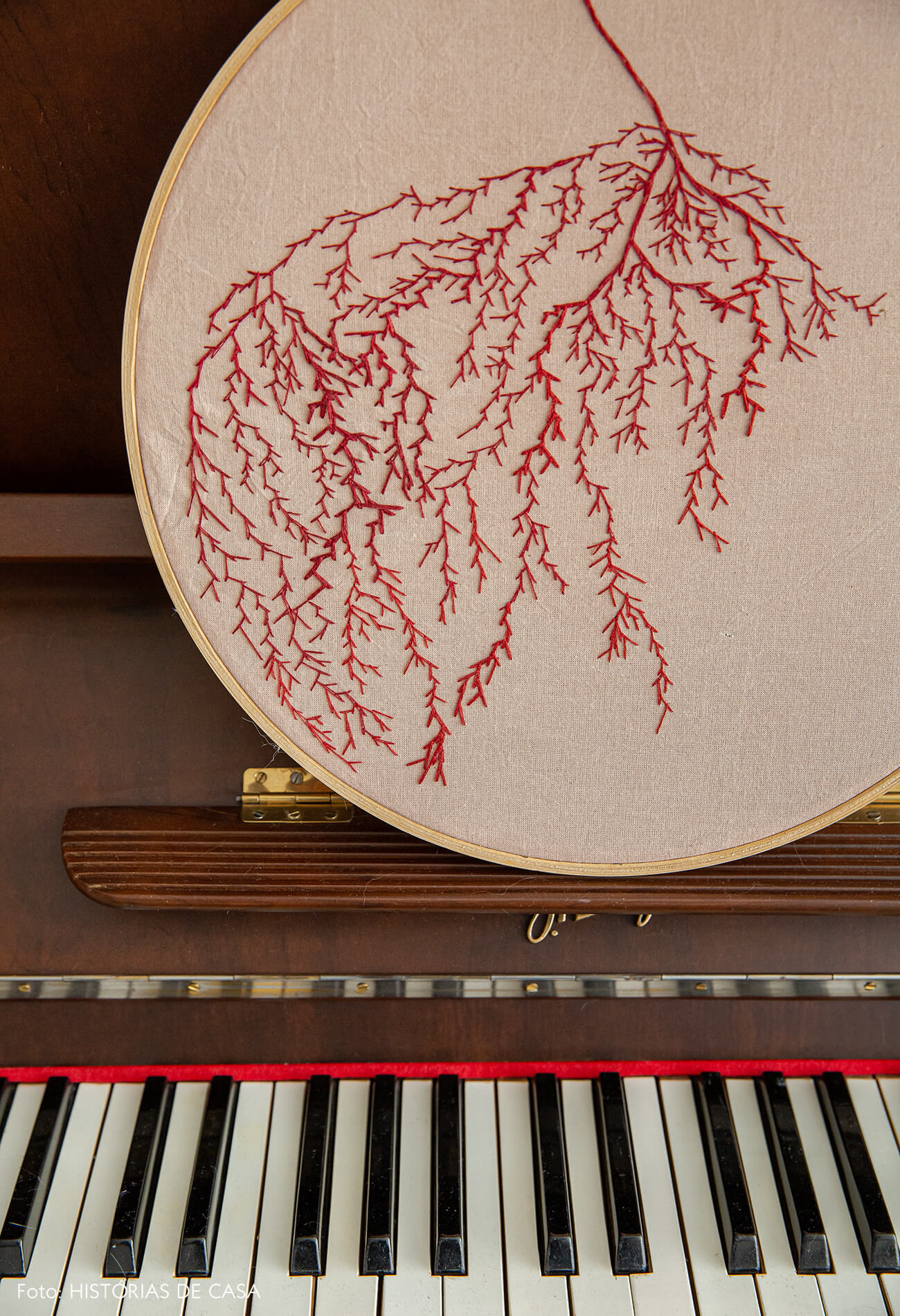 Bordado artesanal, handmade