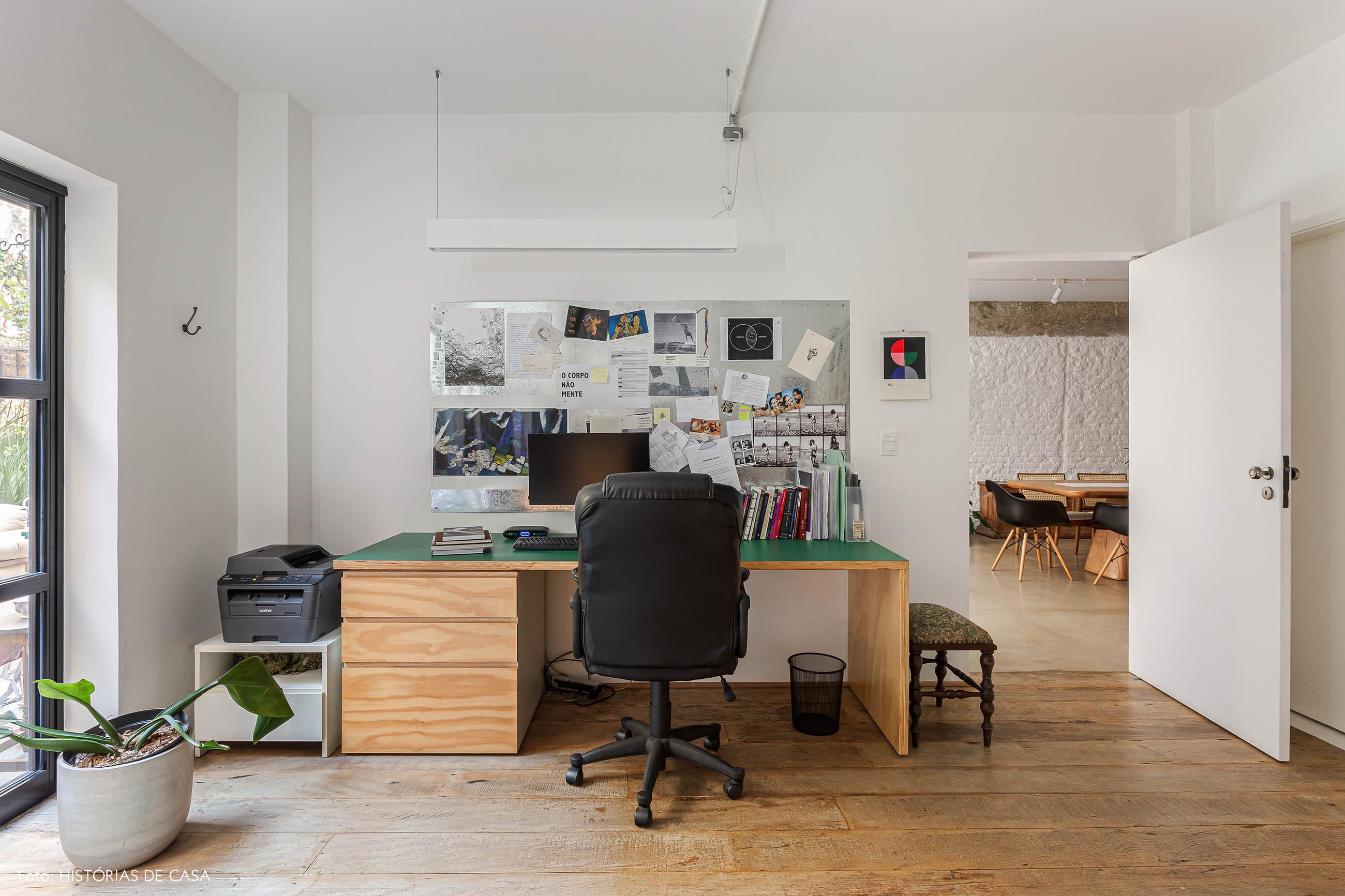 Apartamento térreo com home office para os moradores