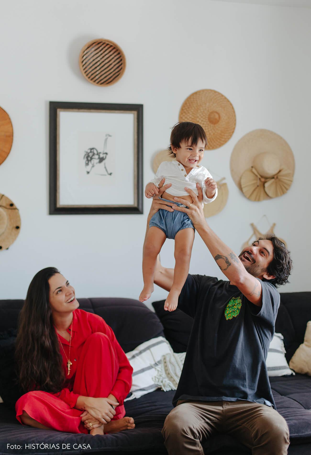 Apartamento da chef Renata Vanzetto e seu filho Ziggy