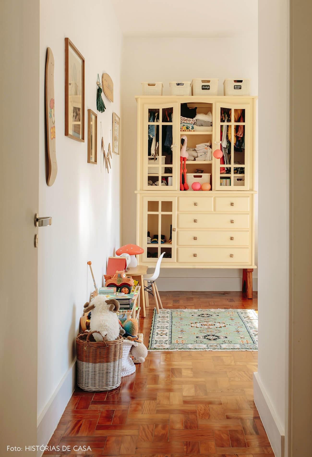 Apartamento da chef Renata Vanzetto, quarto do seu filho Ziggy