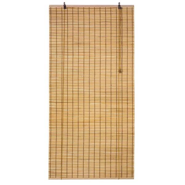 Persiana Rolô Bambu Caramelo 0,80×2,20m