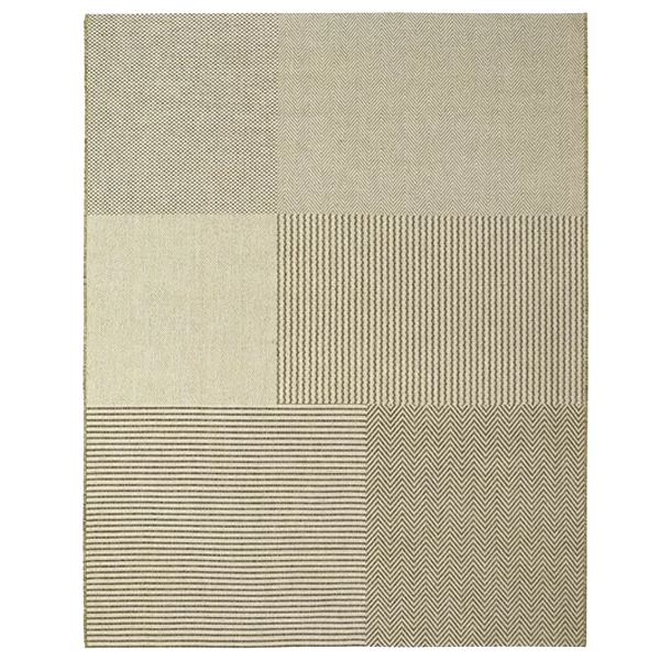 Tapete New Boucle Quadros Bege 1,50×2,00m