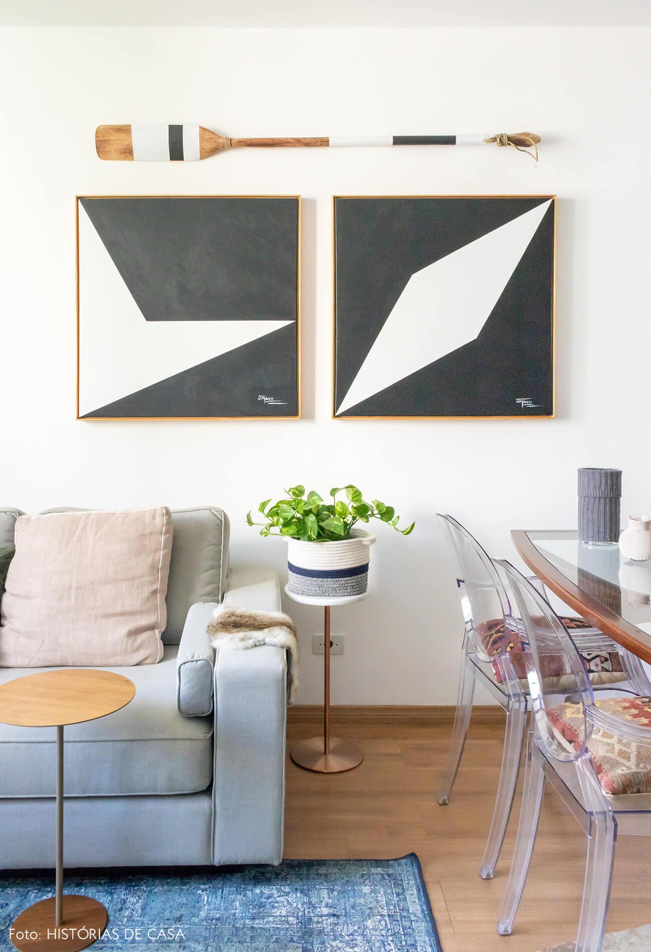 tapete azul quadros