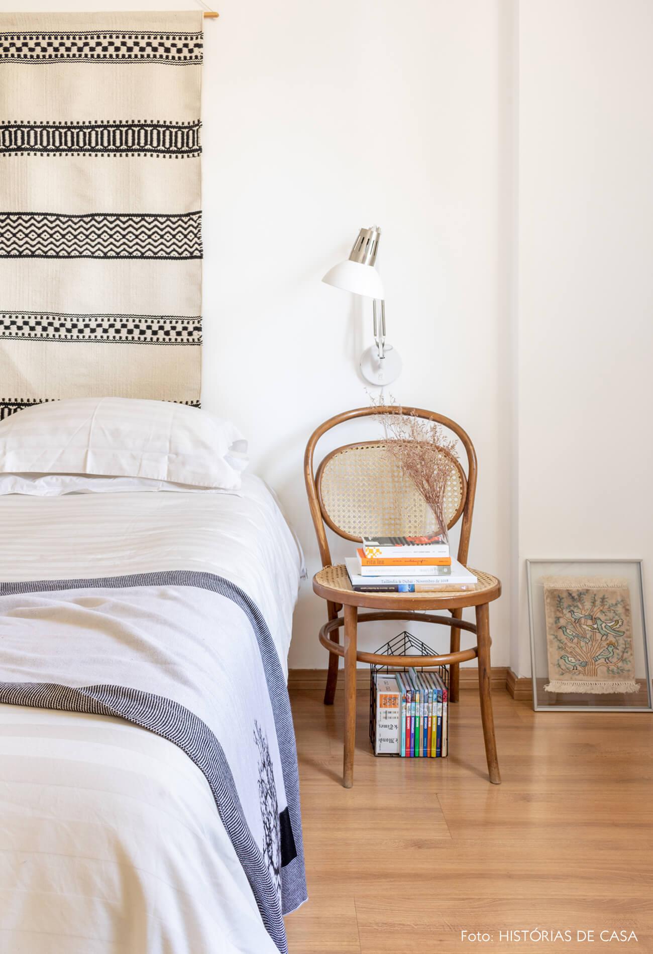 quarto cama cadeira