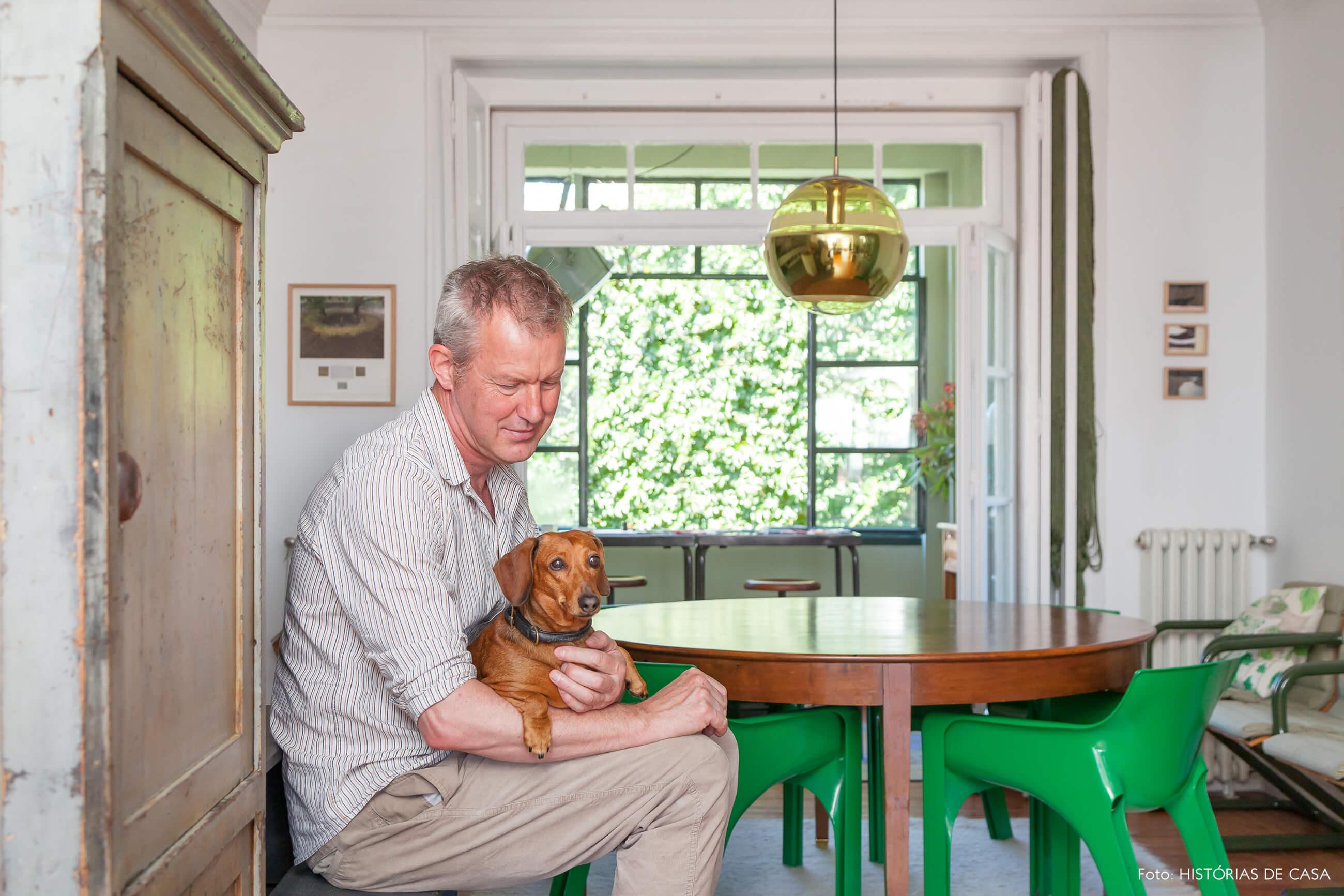 decoração retrato e pet cachorro