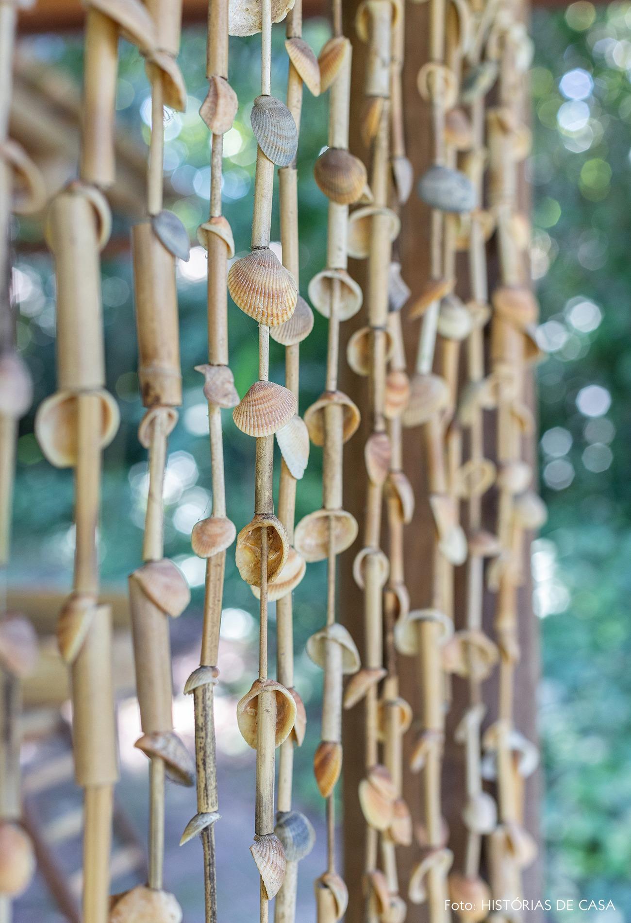 cortina-conchas