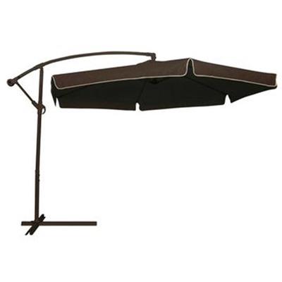 Ombrelone Aço Suspenso Marrom 2,5×2,5m
