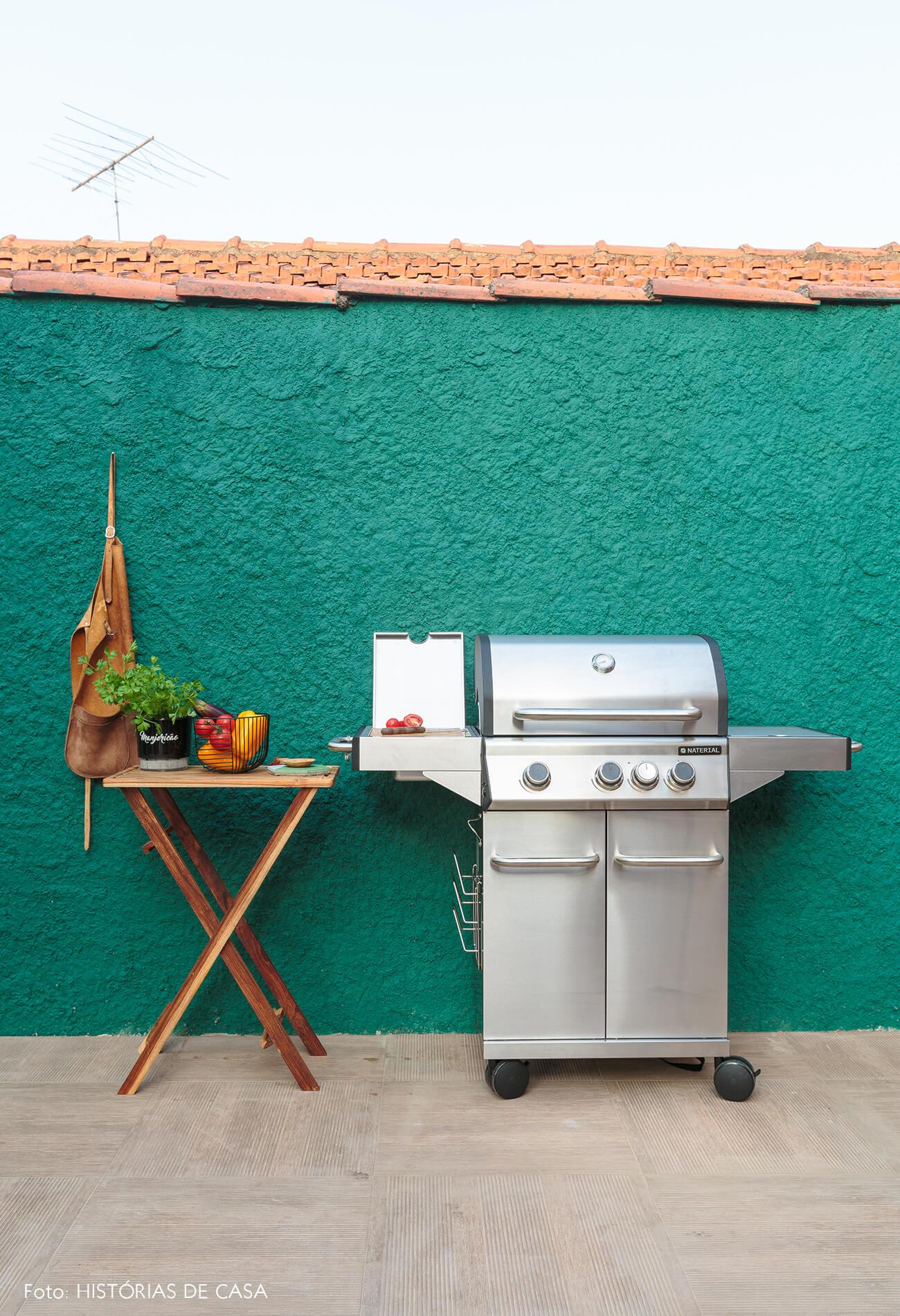 decoração antes e depois jardim leroy merlin parede verde