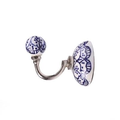 Cabideiro - Floral Azul