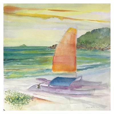 Catamarã na praia // Guyer Salles