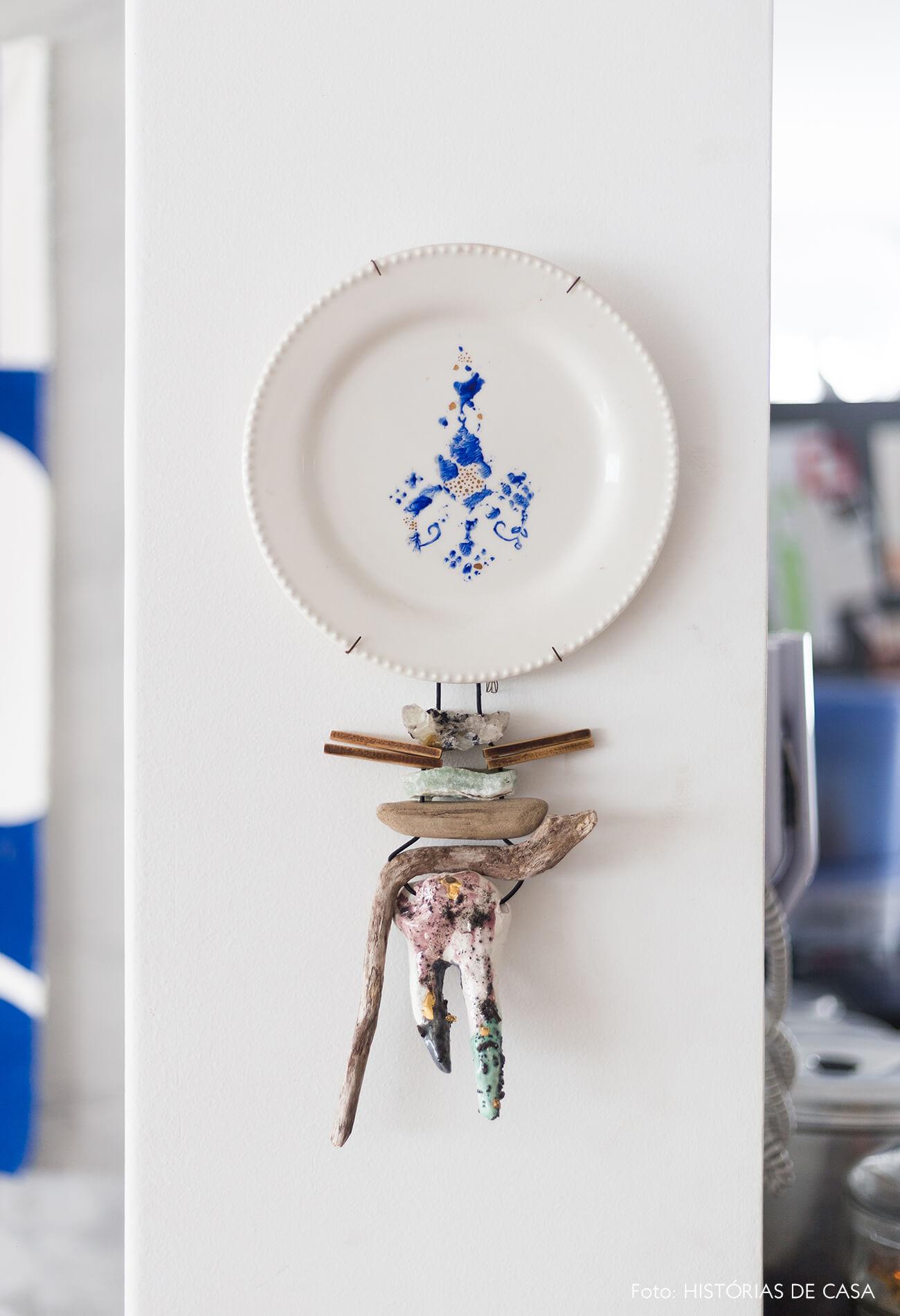 decoração detalhe de prato decorativo
