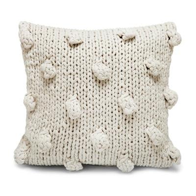 Almofada tricot branco