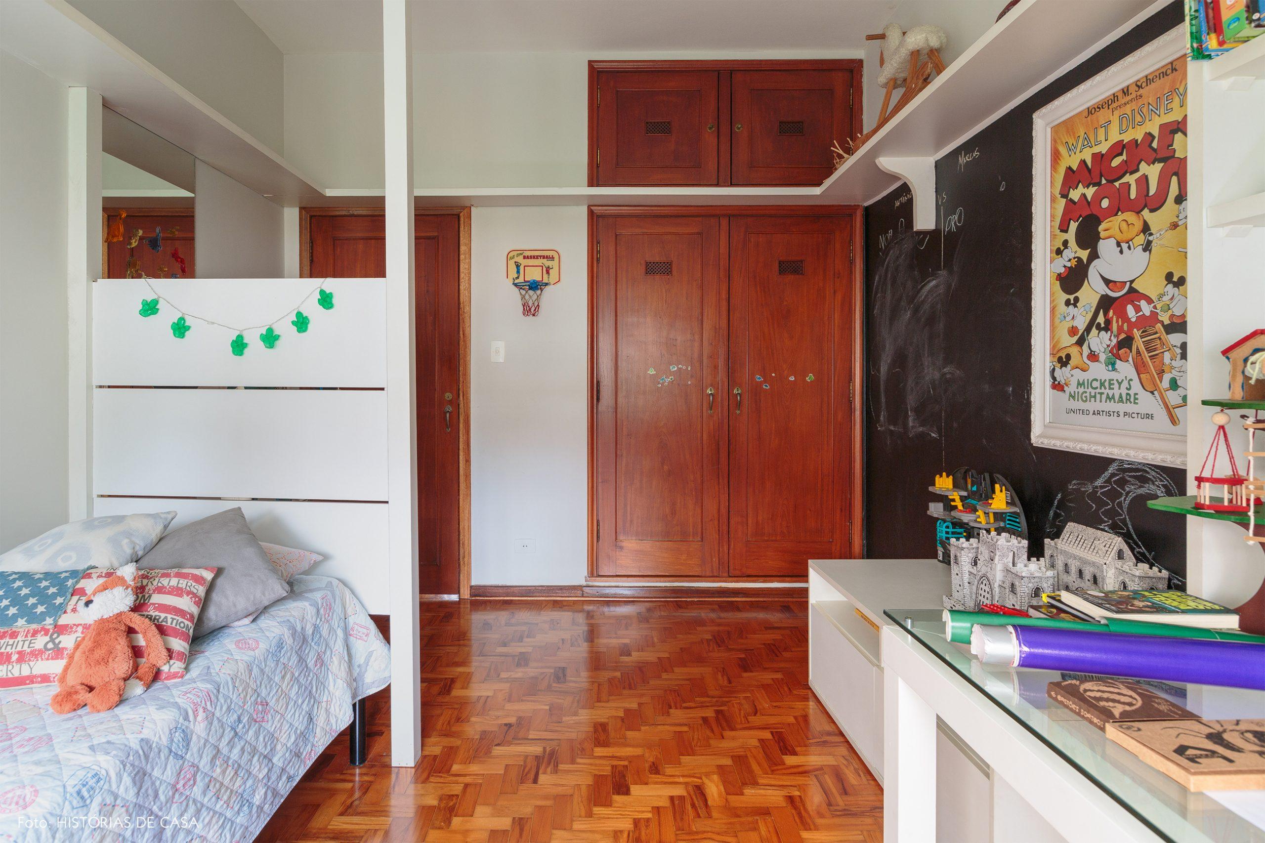 decoração quarto infantil com parede de lousa