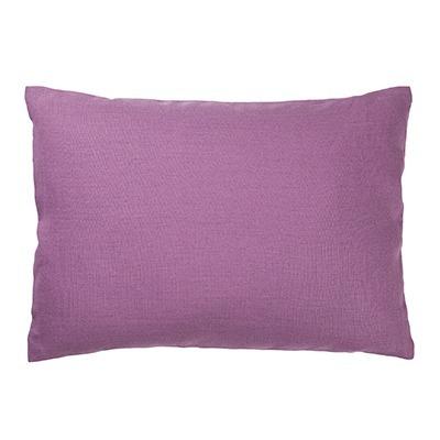 almofada linho lilas