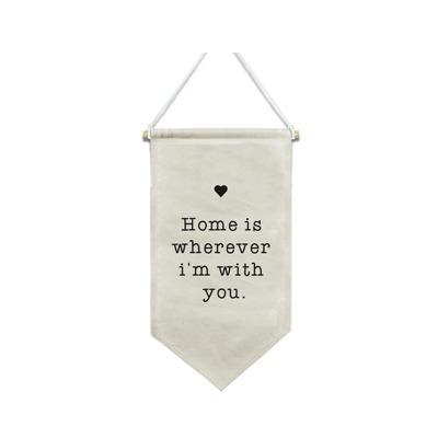 Flâmula Home Is decorativa