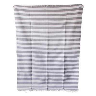 Tapete Striped - Cinza e Branco