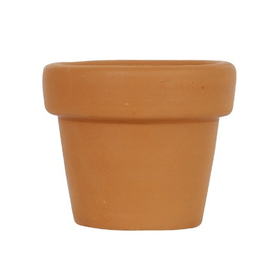 Vaso Cerâmica Terracota Mini